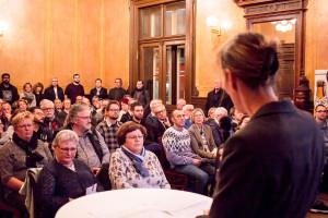 Diskussionsveranstaltung zur Hof-Galerie