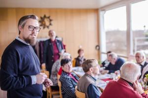 Patrick Leitl zu Besuch der Arbeitsgemeinschaft 60plus