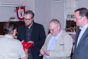 Ingrid Nitsche wird geehrt