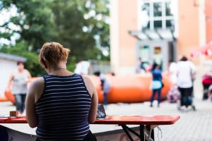 Spielplatzfest an der Sophienschule - Hofer Falken