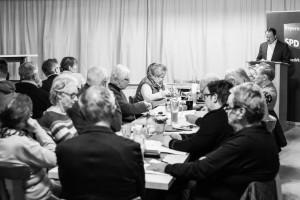 Stadtparteitag der SPD Hof im Schützenhaus in Jägersruh