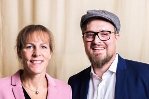 Leitl und Fraktionsvorsitzende Eva Döhla