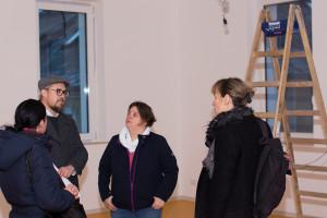 Neue Räumlichkeiten des Mütterlcubs in der Layritzstraße