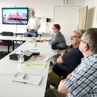 Informationsbesuch zum Digitalen Gründerzentrum Einstein1 an der Hochschule Hof