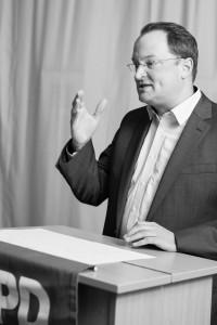 Der scheidende Vorsitzende Jörg Mielentz
