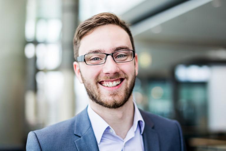 Sascha Kolb, Vorsitzender des SPD-Ortsvereins Hof-Mitte