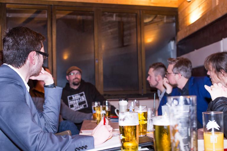 Ortsvereinssitzung SPD Hof-Mitte