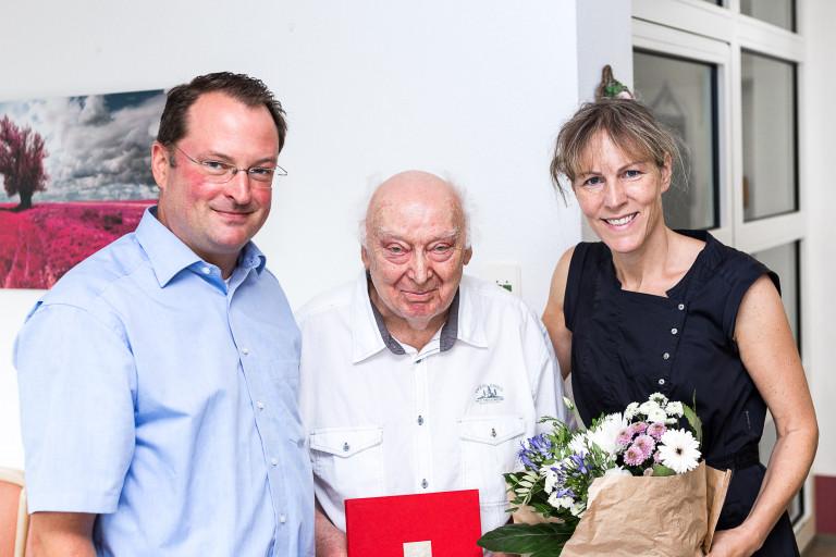 Ehrung Dieter Seemann 50 Jahre SPD