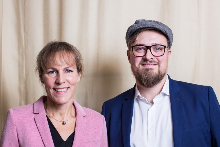 Döhla und Leitl Stadtparteitag 2018