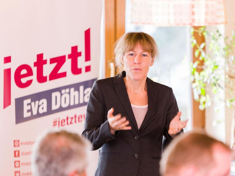 Oberbürgermeisterkandidatin Eva Döhla